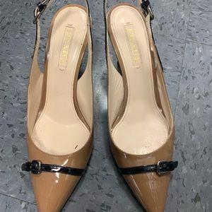Prada sling back heels